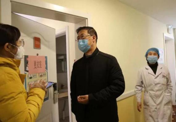 """""""疫情不退 我们不回 """" 晋源区集中医学观察点启用"""