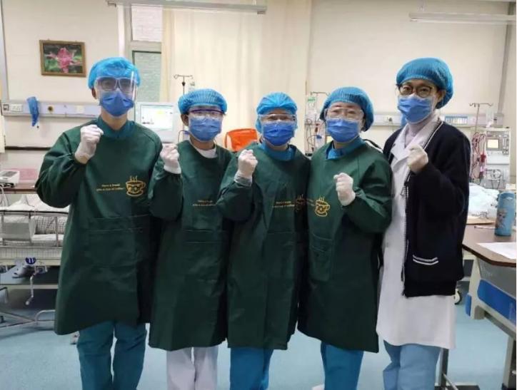 党旗飘飘|以使命见证初心——太原市人民医院内科支部的党员们