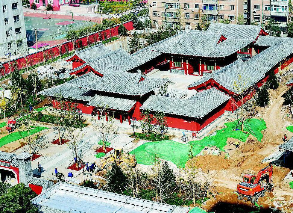 狄仁杰文化公园预计年底前开门迎宾