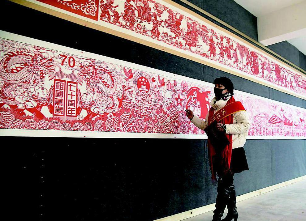 刘家堡村非物质文化遗产展示一条街对外开放