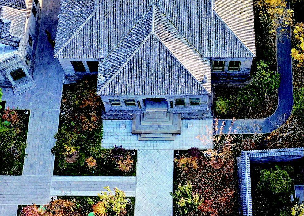 信步晋商博物院细细打量老建筑