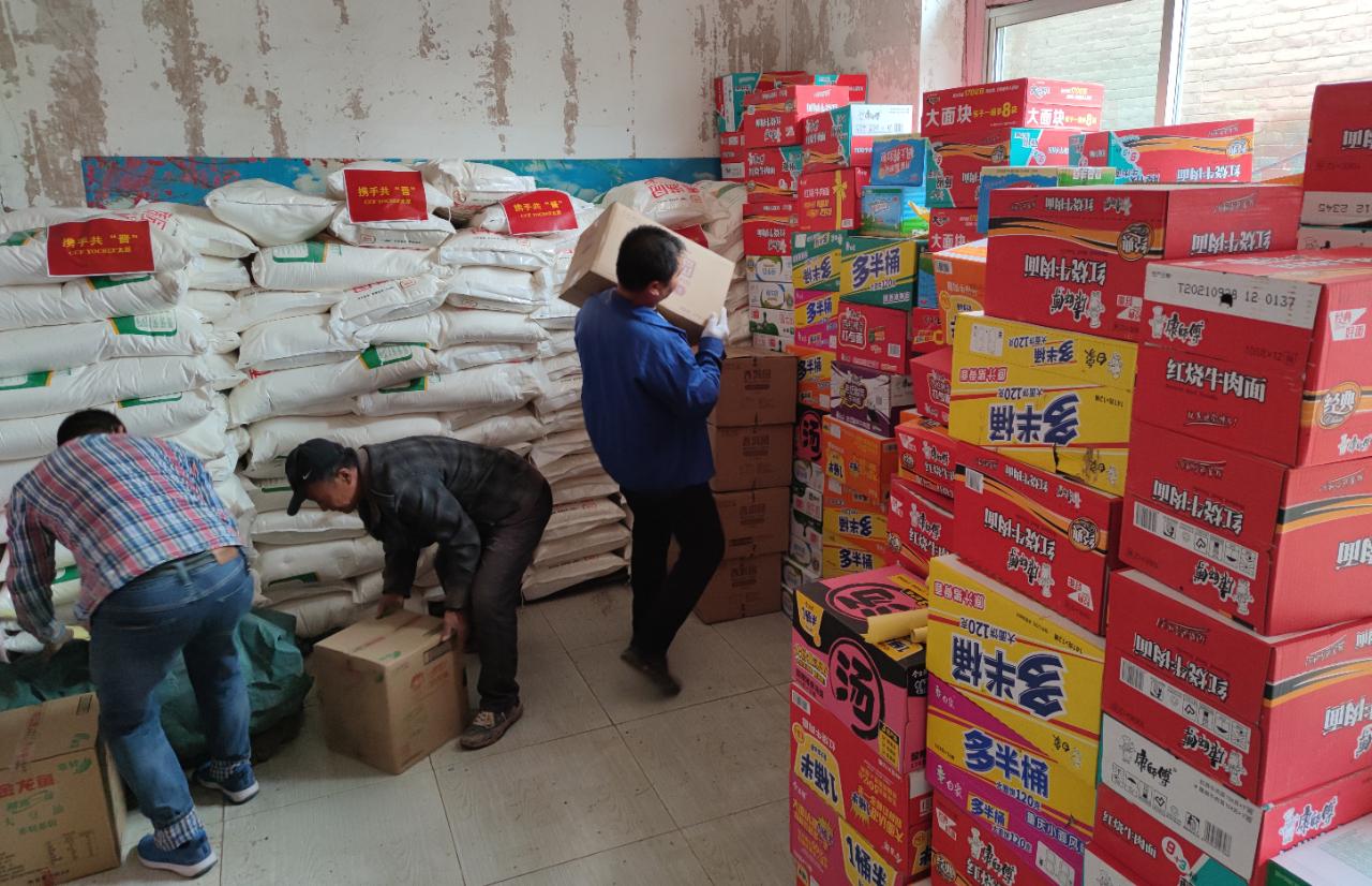 太原市民政局全力帮扶清徐县开展灾后重建工作